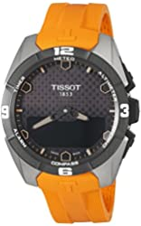 Tissot Men's Swiss Quartz Titanium Casual Watch (Model: T0914204705101)