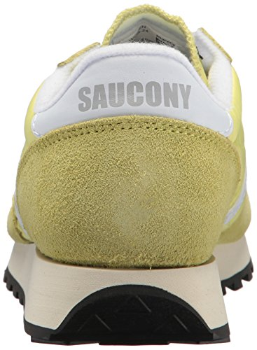 Yellow Saucony White 24 Jaune Jazz Femme Baskets Vintage Original wOYqwU