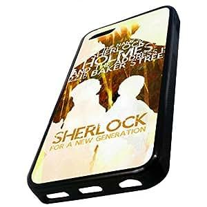 Lmf DIY phone caseiphone 4/4sCase, Sherlock Cell Phone Case (iphone 4/4s (Black)Lmf DIY phone case