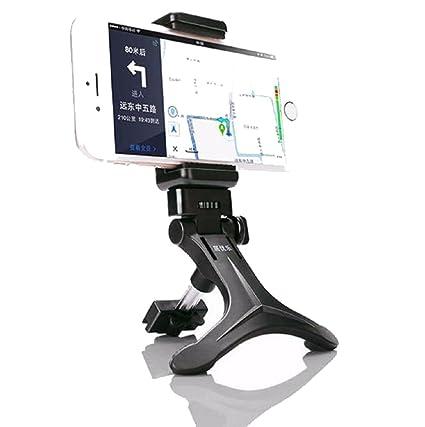Sannysis Soporte Universal de telefono movil para coche Extensible y rotable 360º Air Vent support para