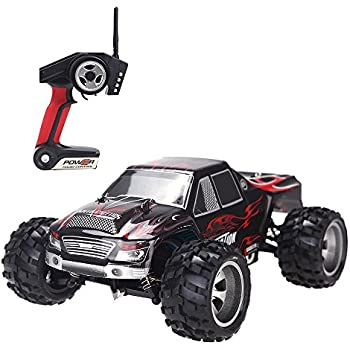 RC Cars,Babrit F9 2.4 GHz 4WD High Speed 50KM/H 1:18 SCALE RC Cars Fast Race RC Cars Remote Control Trucks Racing Vehicle