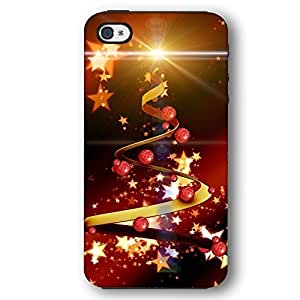 Christmas Tree with Stars For HTC One M7 Case Cover Armor Phone Case