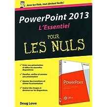 PowerPoint 2013 Essentiel pour les Nuls