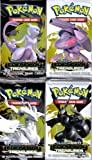 4 (Four) Packs of Pokemon Trading Card Game Black & White BW