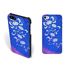 Unique Custom Design Daisy Case For HTC One M7 Cover Case Fashion Blue Girls Hard Plastic Case For HTC One M7 Cover Skin Protective