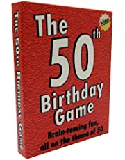 The 50th Birthday Game - amusing gift idea or party fun ice breaker