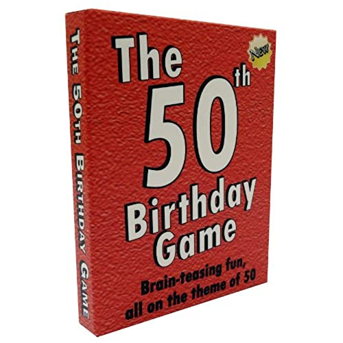The 50th Birthday Game Fun Party Idea Also A Uniquely Gift For Men And Women
