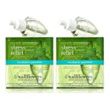 Bath and Body Works Wallflowers 4-Pack Refills (Aromatherapy Stress Relief - Eucalyptus Spearmint)