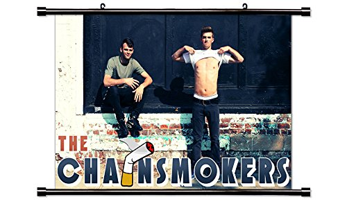 Chainsmokers DJ Wall Scroll Poster