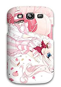 Excellent Galaxy S3 Case Tpu Cover Back Skin Protector Animal Bird Blue Bow Dress Flowers Food Original Petals Pinksakuragi Yuzuki Twintails