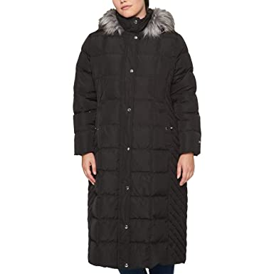 neue Version Gute Preise für die ganze Familie Tommy Hilfiger Womens Plus Winter Down Parka Coat at Amazon ...