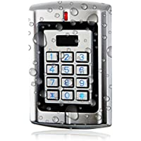 UHPPOTE Metal Standalone Keypad Access Control Machine With Wiegand 26-37 Interface (Only for 125KHz HID Card)