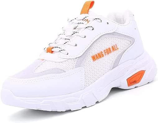 KINDOYO Zapatillas Deportivas de Mujer - Cordones en el Gimnasio Corriendo Zapatos de Fondo Grueso de Confort Casual: Amazon.es: Zapatos y complementos