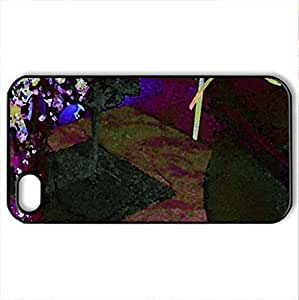 stilllife - Case Cover for iPhone 4 and 4s (Watercolor style, Black) by lolosakes
