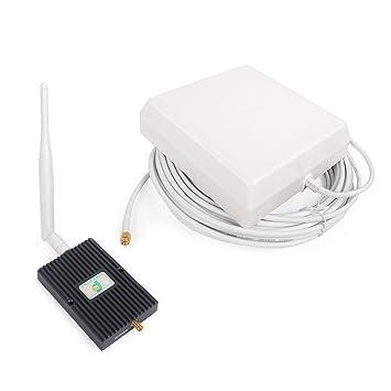 1800MHz Teléfono Celular Kit Amplificador de Señal Repetidor Booster con Antena interior y Panel Antena para