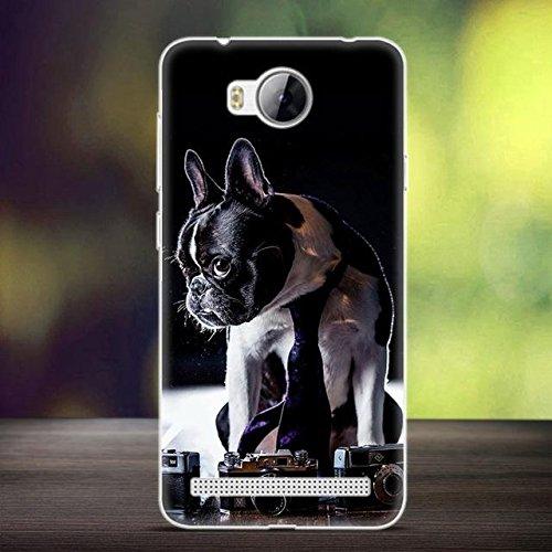 La caja del teléfono móvil de TPU con dibujo para Huawei Y3II / Y3 II e