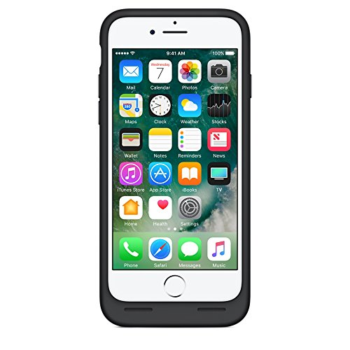 Apple iPhone 7 Smart Battery Case Black (Certified Refurbished) by Apple (Image #2)