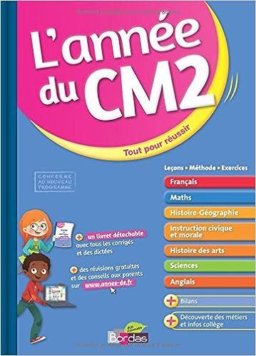 Livres gratuits en ligne ANNEE DU CM2 epub pdf