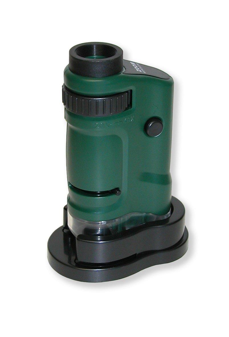 Carson MM-24MU MicroBrite LED Lighted Pocket Microscope Set of 6 20 x 40X Zoom Carson Optical Inc