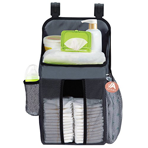 Hanging Diaper Organizers Fits All Crib Strollers Playards Nursery Storage by A AIFAMY