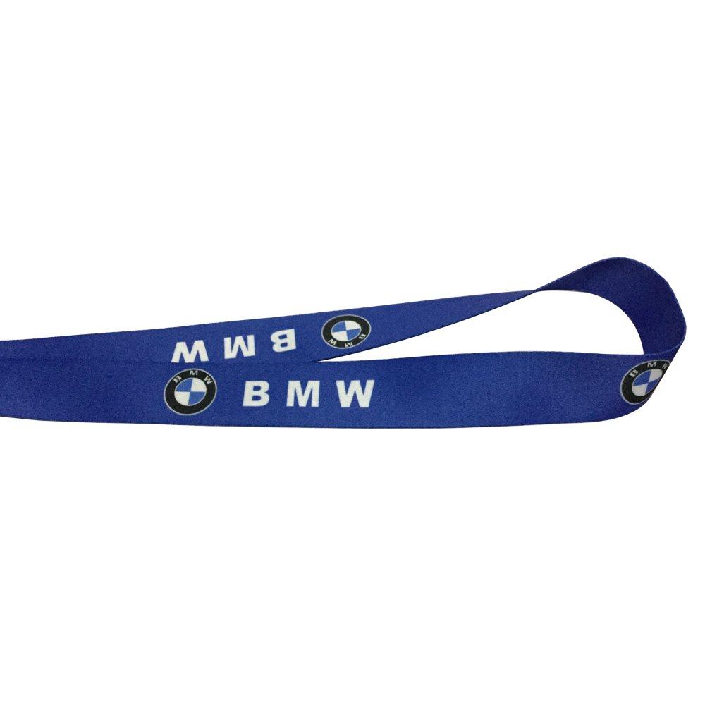 1pc Blue Color USA Ship New Quick Release Neck Strap Lanyard Keychain Keyring Car Keys House Keys ID Badges Card For BMW Design