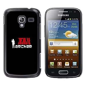 iKiki Tech / Estuche rígido - Archeer - Samsung Galaxy Ace 2