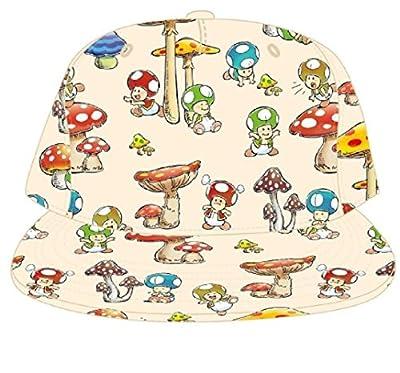 Nintendo - Sublimated Vintage Toad Mushroom Baseball Cap Snapback