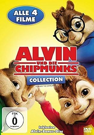 Alvin Und Die Chipmunks Collection 5 Dvds Amazonde Jason Lee