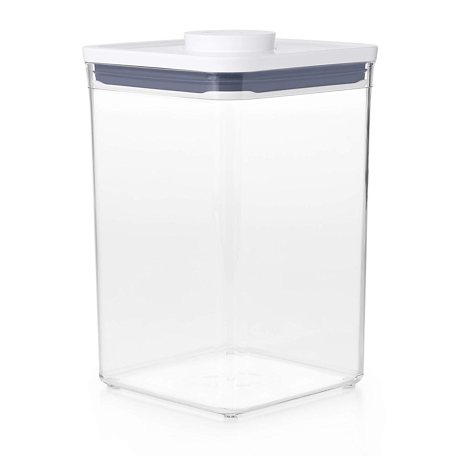 OXO Good Grips POP Container 4.4-Quart Square Airtight Food Storage for for Flour and More (Set of 4)