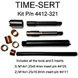 Time-Sert M14x1.25 spark plug thread repair kit p/n 4412-321
