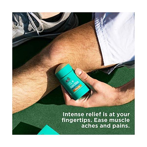 CBDfx Muscle & Joint CBD Balm Stick Cooling Formula – 750mg CBD