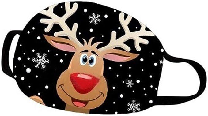 Eaylis Leggings Weihnachten Face Mask Face Mask Aus Baumwolle Bandanas Lustige 3d Drucken Sport Schlauch Sommer Earloop Schal Men Women Print Wiederverwendbare Atmungsaktive Schutz Bekleidung