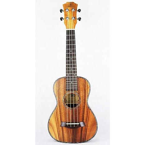 "NING-MENG 26""ukelele tenor mini guitarra acústica Koa dulce acacia Uke palo de"