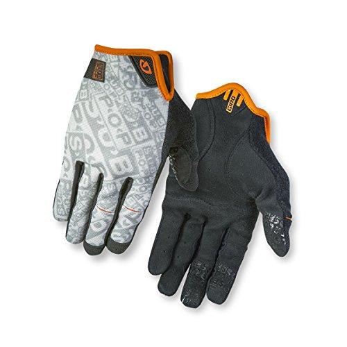 Giro DND Cycling - Guantes de ciclismo, tamaño M, color negro White/Ornage/Black