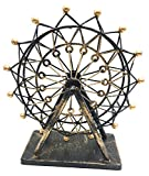 ZeeMoe Regular Sized Rotating Ferris Wheel Figurine Statue Vintage Craftsmanship, Fireplace, Tabletop, Office, Yard, Home Decoration