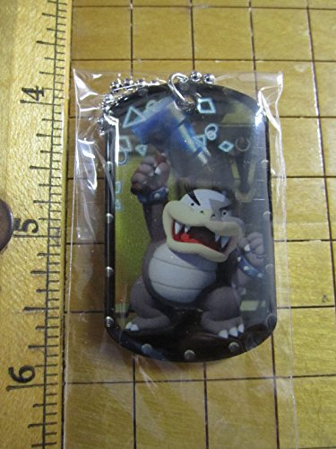 2015 Super Mario Dog Tags #19 Morton Koopa Jr. Necklace Dogtag w/Chain
