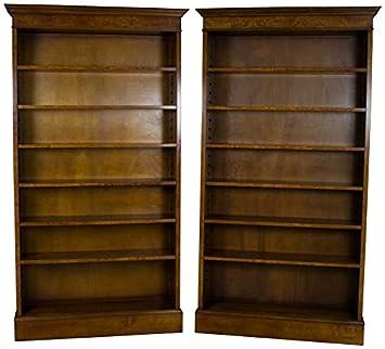 Amazon Pair Tall Bookshelves Kitchen Dining