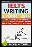 Ielts Writing Task 2 Samples: Over 50 High-Quality