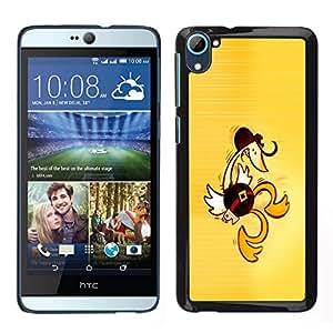 All Phone Most Case / Oferta Especial Duro Teléfono Inteligente PC Cáscara Funda Cubierta de proteccion Caso / Hard Case HTC Desire D826 // Western Dancing Duck - Funny
