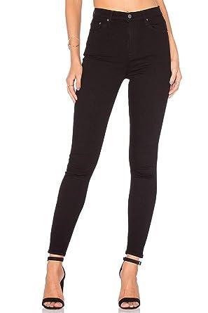 68be31ae771352 GRLFRND - Women s Petite Kendal Super Stretch High Rise Skinny Jean - Black  Magic at Amazon Women s Jeans store