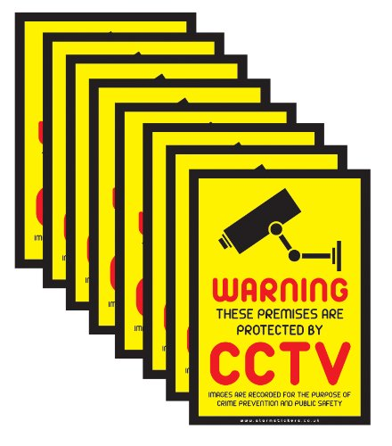 Tips when Setting up Security Sticker & Sign Deterrents Around the Home