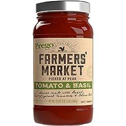 Prego Farmers' Market Sauce, Tomato & Ba...