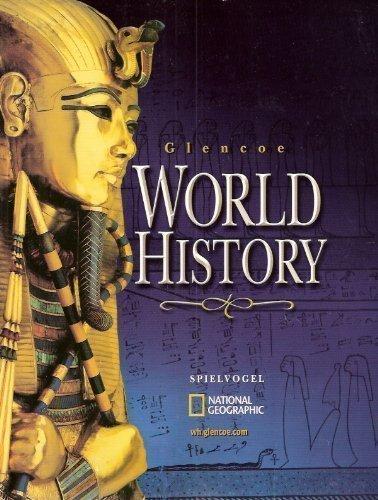 Glencoe World History (National Geographic Edition)