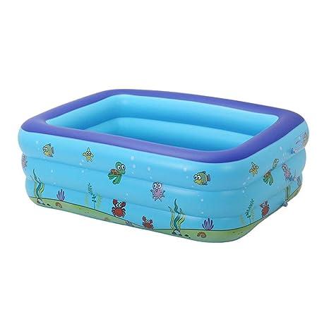 Piscinas portátiles para niños Bañera inflable Bebé Piscina ...