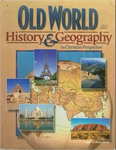 Old world history geography in christian perspective 3rd edition old world history geography in christian perspective 3rd edition lauel elizabeth hicks amazon books gumiabroncs Choice Image