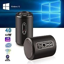 TV BOX,Bessky® NEW RELEASE !!! Quad Core Mini PC TV BOX Intel Desktop Windows 10 2GB/32GB BT4.0 Wifi 2.4G-5.0G