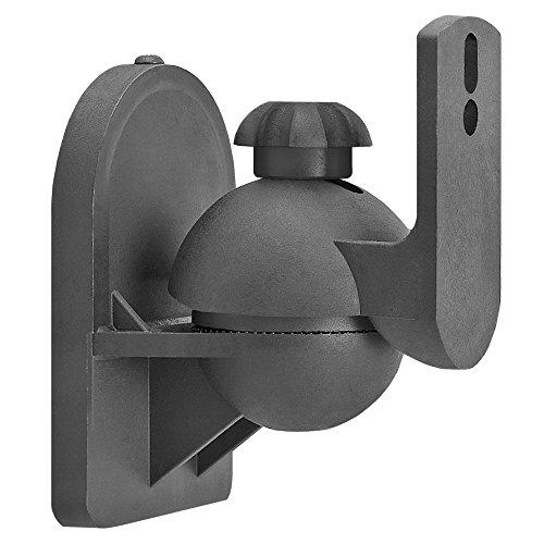 Cmple - Speaker Wall Mount for satellite speakers, Black - P