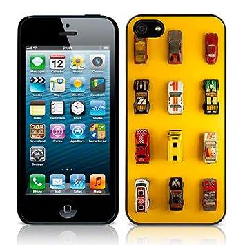 iPhone 5S Carcasa Trasera Image Dinky Cars Amarillo Funda ...