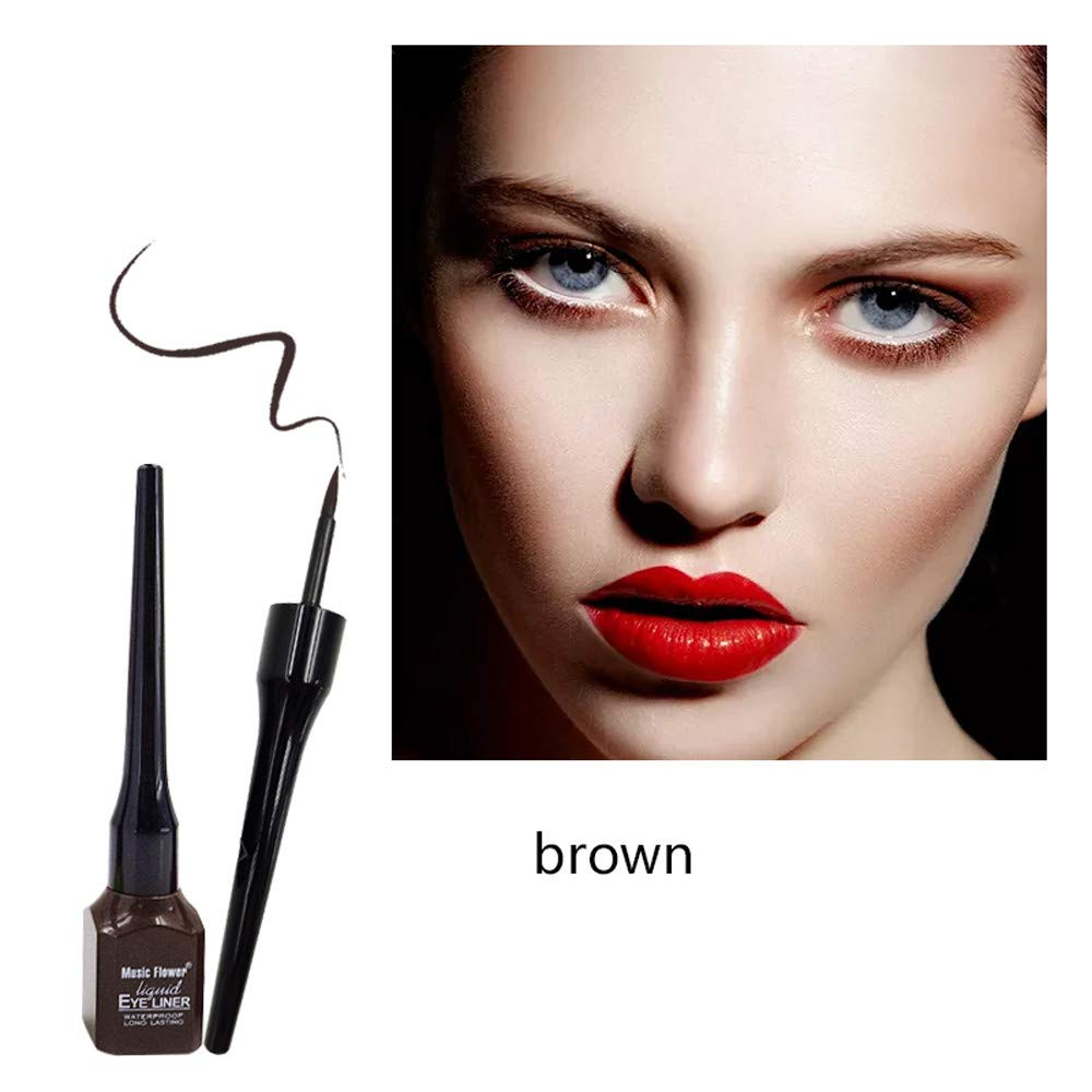 Euone Clearance Sales,Eye Liner Liquid Water Proof Makeup Eyeliner Pen Pencil Basic Beauty Cosmetic
