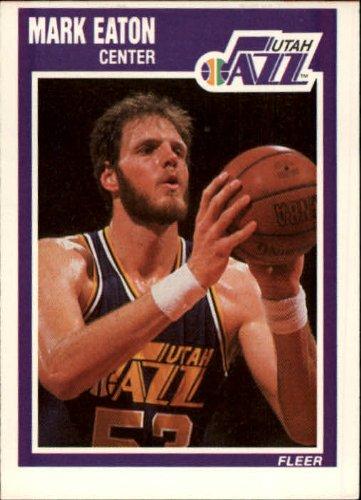1989 Fleer Basketball Card (1989-90) #152 Mark Eaton